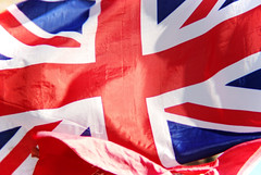 Union Jack (Sameli) Tags: uk blue white jack flag united union kingdom british reg