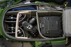 horseman 45fa in mindshift gear backlight 26l (mike thomas) Tags: camera backlight bag demonstration example pack backpack 4x5 largeformat horseman 26l mindshift 45fa