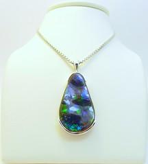 NEW ARRIVAL (The Ammolite) Tags: fossil   ammolite ammonite rock gemstone pendant jewelry jewellery