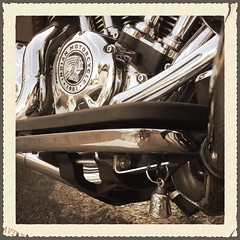 Guardian Bell for my Indian Roadmaster (Ludo Road-SixtySix) Tags: indian roadmaster