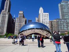 IMG_1371 (pastough) Tags: cloud chicago illinois gate millenniumpark cloudgate may2016