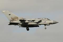 RAF Marham Tornado landing at Leeuwarden (Evert_Nokin) Tags: flag raf nato leeuwarden lwd 2016 frisian navo frisianflag oefening marham 14sqn