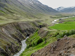 Torfufellsgil and Villingadalur (Einar Schioth) Tags: trees summer sky cliff cloud nature water sunshine clouds canon river landscape photo iceland day outdoor ngc picture canyon sland eyjafjordur nationalgeographic villingadalur einarschioth torfufellsgil