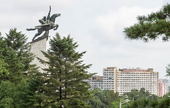 Chollima Statue, Pyongyang (tom.frohnhofer) Tags: monument statue asia communism northkorea pyongyang dprk juche mansuhill chollima tomfrohnhofer