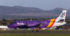 G-LGNI SAAB 340, Edinburgh (wwshack) Tags: scotland edinburgh edi saab340 loganair flybe turnhouse egph edinburghairport glgni