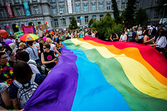 Zagreb Pride 2016 (Ivan Klindi) Tags: gay colors canon lesbian high rainbow flag wide pride zagreb lgbt ultrawide ultra 1740mm 6d lgbtiq