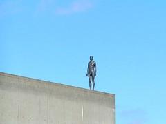 Gormley Man, London, England (Amethinah) Tags: uk greatbritain england sculpture london unitedkingdom publicart stature 2007 anthonygormley