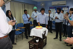 Employee's Birthday Celebration at West Highlander Immigration  Chandigarh