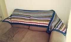 Stashbuster Blarf (Blanket + Scarf) (litasky) Tags: scarf stash crochet blanket shawl manta cachecol croch xale