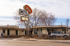 Hi-Line Motel -2 (nikons4me) Tags: arizona az hilinemotel sign old decay weathered nikond7100 route66 motherroad motel rundown ashfork closed nikonafsdx18200mmf3556gifedvr