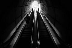 going underground (adrizufe) Tags: bilbao metro metrobilbao basquecountry bizkaia underground aplusphoto foster fosteritos goingunderground blackwhite blanconegro bn bw adrizufe adrianzubia arquitectura penumbra