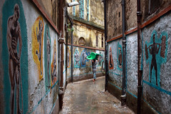 An alley @ Kolkata (Rajib Singha) Tags: travel street people outdoor art culture heritage interestingness flickriver canoneos40d kolkata westbengal india