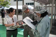 WHEN DISASTER STRIKES: U.S. ARMY SOLDIERS IN JAPAN OFFER EXPERTISE DURING SHIZOKA PREFECTURE COMPREHENSIVE DISASTER DRILL (usarjnco) Tags: usarmypacific usarmyjapan publichealthcommandpacific regionalhealthcommandpacific japangroundselfdefenseforce usarpac usarj jgsdf campzama japan shizuokaprefecture kakegawa comprehensivedisasterdrill drill exercise emergency mission relief aid humanitarian supply communication communicate collaborate bilateral soldiers army 34thinfantryregiment easternarmy helicopter uh1 huey resources governor crisis naturaldisaster convoy mre casualty evacuation humvee hmmv supplies training skills equipment expertise