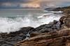 South Curl cliff (FPL_2015) Tags: leefilter gnd09 canon1635f4lis canon6d landscape southcurlcurl northernbeaches sydney australia sunrise rocks ocean water seascape