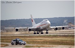 Bahrain Royal Flight - Boeing 747SP - A9C.HAK (Frabairod) Tags: canon bahrain boeing palma spotting palmademallorca pmi spotter 600d 747sp lepa boeing747sp