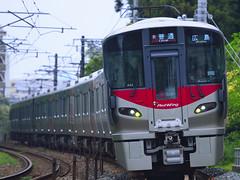 DSC2703 (nEUROn FL) Tags: japan train railway jr hiroshima   redwing  jr  227