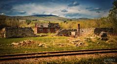 Old Brick House (D-TaiL) Tags: old blue sky house brick landscape nikon rail vision dtail d7000
