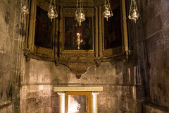 Interior of Church of Holy Sepulchre (marylea) Tags: history architecture israel ancient triptych interior jerusalem christian altar holy historical churchoftheholysepulchre 2015 may11