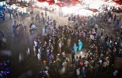 Street Dancer - Marrakesh (JoeyHelms Photography •2.5MViews&10kFollowers•) Tags: africa people night place market outdoor el morocco marrakech marrakesh arabian crowds lightroom fna jemaa joeyhelms joeyhelmsphotography