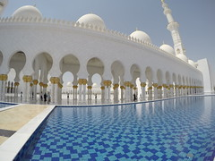 Sheikh Zayed Grand Mosque, Abu!
