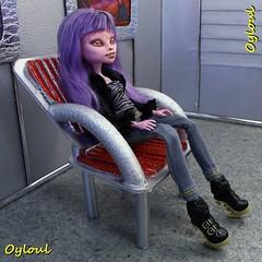 232. Space Crafting (OylOul) Tags: monster high doll furniture ooak cam 16 create custom
