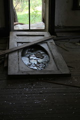 Come On In (Brandi Bonde) Tags: door wood old house abandoned home broken glass floor decay explore trespass