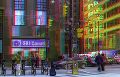 Financial District of Toronto 3-D ::: HDR/Raw Anaglyph Stereoscopy (Stereotron) Tags: urban toronto ontario canada architecture america radio canon eos stereoscopic stereophoto stereophotography 3d downtown raw control north citylife streetphotography kitlens twin anaglyph financialdistrict stereo stereoview to remote spatial 1855mm hdr province redgreen tdot 3dglasses hdri transmitter stereoscopy synch anaglyphic optimized in threedimensional hogtown stereo3d thequeencity cr2 stereophotograph anabuilder thebigsmoke synchron redcyan 3rddimension 3dimage tonemapping 3dphoto 550d torontonian stereophotomaker 3dstereo 3dpicture anaglyph3d yongnuo stereotron
