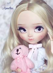 Amlie (Mikiyochii) Tags: doll dolls ooak groove pullip custom fashiondoll pullips repaint fullcustom