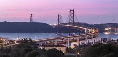 25th of April Bridge // Lisbon // Portugal (www.antoniogaudenciophoto.com) Tags: voyage portugal monument pont histoire tage capitale tourisme lisbonne fleuve patrimoine touriste cartepostale 25avril pontdu25avril pont25avril lisbonnepont