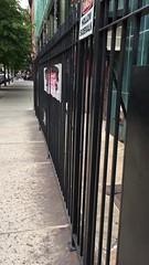 David Bowie Tribute on Bond Street (wka) Tags: nyc fence bowie manhattan tribute bondstreet davidbowie