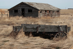 (Lonesome Traveler (J Haeske)) Tags: rural alberta vulcan abandonedfarm vulcancounty
