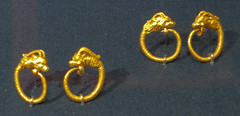 IMG_2453 (jaglazier) Tags: newyorkcity usa newyork art archaeology animals greek gold persian unitedstates crafts may dragons jewelry greece earrings museums metropolitanmuseum metalworking mythical hellenistic pergamon 2016 2ndcenturybc 5316 wildgoat classicalarchaeology goldworking copyright2016jamesaglazier 200bc150bc