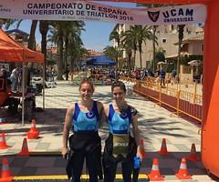 Ana Mariblanca gana el campeonato españa triatlon universitario 11