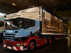 Multimodal 2016 Birmingham NEC (gardnergav) Tags: truck exhibition lorry brookfield shipping artic scania logistics whm 2016 multimodal fowarding whmalcolm sn65nbm