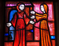 Taiz (chiarafratocchi) Tags: france saint maria jesus holy chiesa francia giovanni vetrata taiz religione ges elizabetta spiritualit