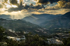LaohuzuiSS3 (Furjio) Tags: china sunset sky landscape terraces yunnan riceterraces yuanyang