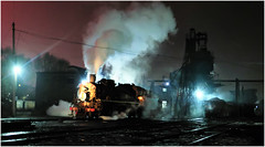 Night Shift Steam (Welsh Gold) Tags: china night de republic general shift steam peoples locomotive province preparations sy zhu liaoning 1395 fuxin northwesterb