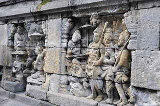 borobudur - java - indonesie 18