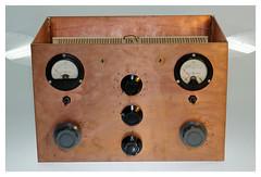 """Mac Coy"" antenna tuner (iveka19) Tags: tuner hamradio cuivre radioamateur matcher balancedoutput levyantenna centerfeedantenna"