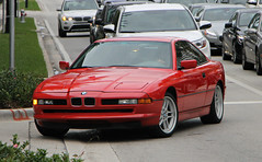BMW 850i (SPV Automotive) Tags: red sports car exotic bmw coupe e31 850i