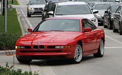 BMW 850i (SPV Automotive) Tags: red sports car exotic bmw coupe e31 850i