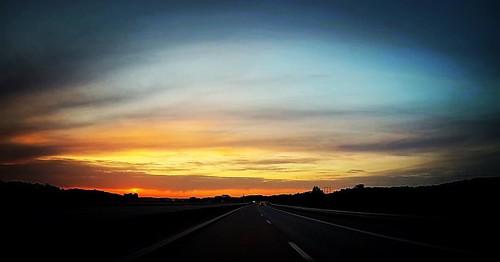 E4 sunset