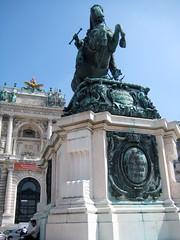 Prince Eugene of Savoy, Neue Burg (New Castle), Hofburg Palace, Vienna (Wiebke) Tags: vienna wien sterreich austria europe hofburg hofburgpalace statue equestrianstatue