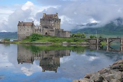 (carlozamagni) Tags: castle reflections scotland eilean donan eileandonancastle