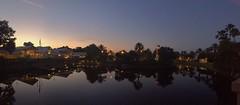 Sunrise at Old Key West (Thanks for 1.5 Million Views!!) Tags: disneysoldkeywestresort oldkeywestresort sky sunlight sunrise scenic lake lighthouse palmtrees water waltdisneyworld wdw reflections appleiphonese iphonecamera iphonese chadsparkesphotography centralflorida
