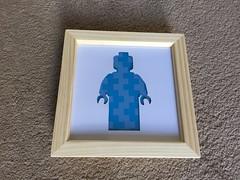 Lego figure brick man (if i were a brick) Tags: lego ifiwereabrick miniland afol moc minifigure silhouette