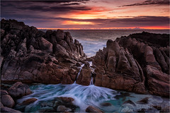 Overflow (Darkelf Photography) Tags: ocean sunset seascape west pool clouds canon landscape photography evening coast rocks dusk indian south australia filter shore western spa maciek overflow 2015 1635mm darkelf wyadup gornisiewicz 5diii