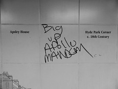 Big up Apollo mandem (duncan) Tags: graffiti hydeparkcorner
