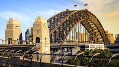 Sydney Harbour Bridge from Milsons Point (Soheil (Javad Adeli)) Tags: sydney harbour bridge milsons point architecture australia landscape