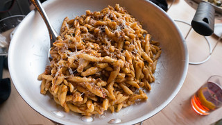 Strozzapreti Pan | veal ragu, pecorino romano